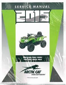2015 Arctic Cat 500 550 700 1000 Tbx Trv Service Manual