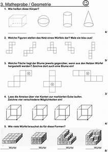 Volumen Quader Berechnen : klassenarbeit zu geometrie mathematik unterricht grundschule mathe unterrichtsideen ~ Themetempest.com Abrechnung
