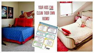 Cleaning Checklist for Kids' Rooms: Free Printable