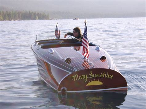 Back Of A Boat by Thinking Of Buying A Chris Craft Barrel Back One Rule