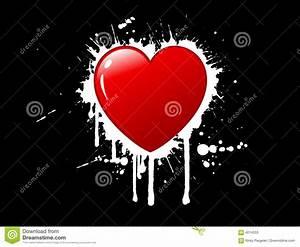 Grunge Heart Background Stock Photos - Image: 4014333