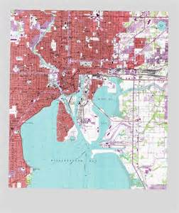 Topographic Map Tampa FL