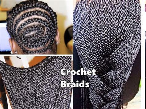 cornrows  crochet braids youtube