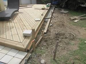Plan terrasse bois sur plot beton 3 pose terrasse lame for Plan terrasse bois sur plot beton