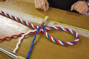 Splicing: Three-strand eye-splice - Sailing Today