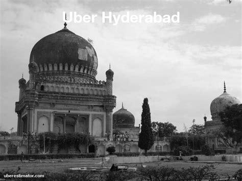 Uber Hyderabad Rates → 6 Uber Car Types