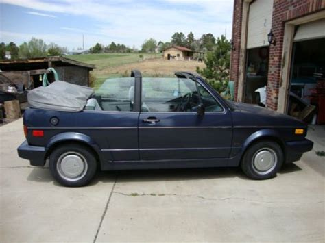 buy car manuals 1988 volkswagen cabriolet spare parts catalogs sell used 1988 volkswagen cabriolet bestseller convertible 2 door 1 8l in aurora colorado