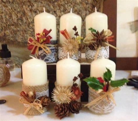 Candele Decorazioni by Pin Di Lori Su Fall Candle Decorations