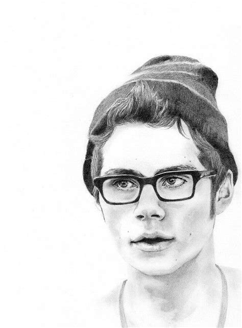 dylan o brien drawings step by step dylan o brien drawing google search