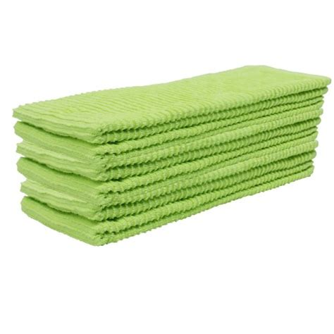 Green Kitchen Towels | embroidered kitchen towel green and l