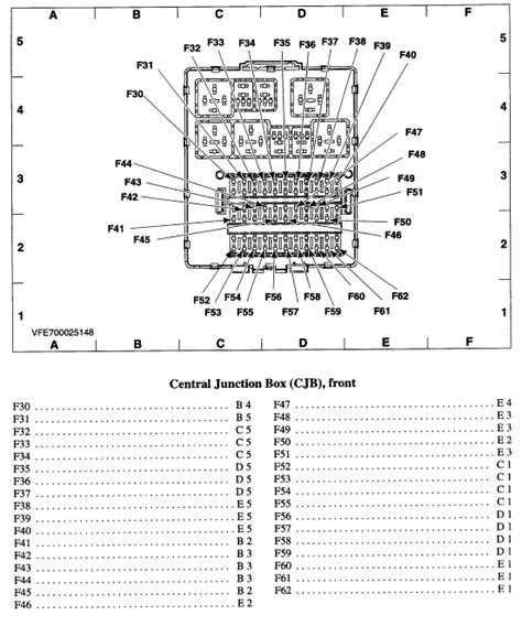 2000 Ford Focu Fuse Box Layout by Where Exactly Is The Fuse For The Radio In A 2000 Ford
