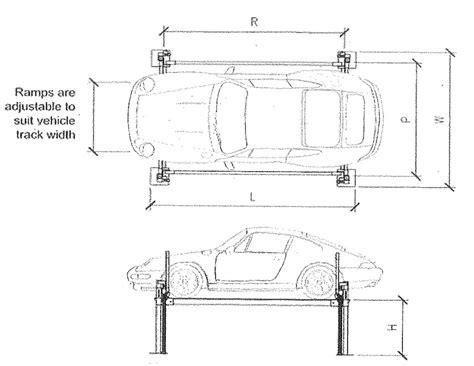 standard car width hamer dimensions capacities