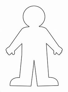 Body Clipart Plain  Body Plain Transparent Free For