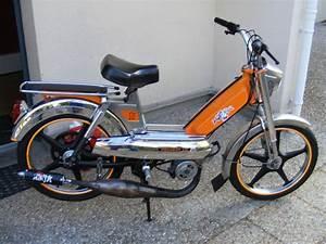 Peugeot 103 Mvl : peugeot 103 mvl orange et chrom e mobcustom ~ Medecine-chirurgie-esthetiques.com Avis de Voitures