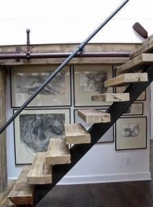 Treppengeländer Selber Bauen Stahl : industrial look 26 stylische m bel aus rohrverbindern ~ Lizthompson.info Haus und Dekorationen