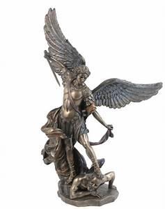 - Bronze Archangel Michael Statue #8693