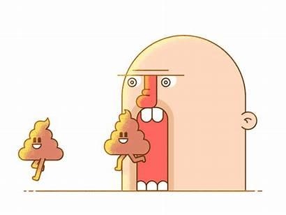 Talking Shit Animation Emoji Gifs Angry Dribbble