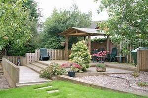 Holz überdachung Garten : gartengestaltung 107 bilder sch ne garten ideen und stile ~ Whattoseeinmadrid.com Haus und Dekorationen
