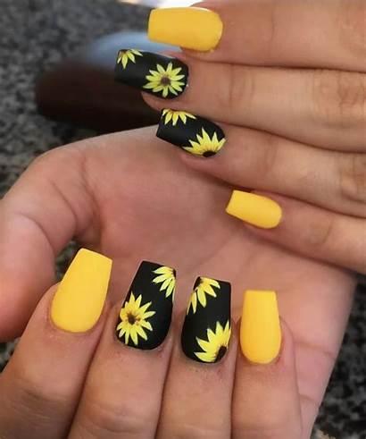 Nail Sunflower Amazing Nails Very
