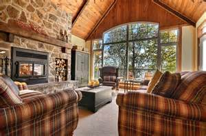 cabin bathrooms ideas cozy cottage rustic living room montreal by