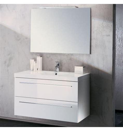 meuble cuisine 60 cm de large meuble vasque salle de bain sanijura horizon laqué blanc