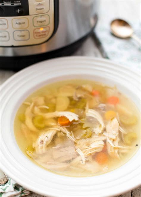 how to cook chicken for soup how to make chicken soup in the pressure cooker recipe simplyrecipes com