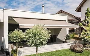 Protection Soleil Terrasse : protection solaire pour balcons terrasses avec stobag ~ Nature-et-papiers.com Idées de Décoration