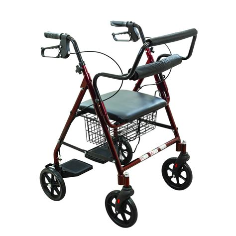 roscoe medical rollator transport chair rollator walkers