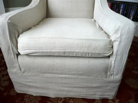How To Make Arm Chair Slipcovers For Less Than