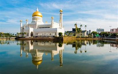 Brunei Omar Mosque Sultan Ali Saifuddin History