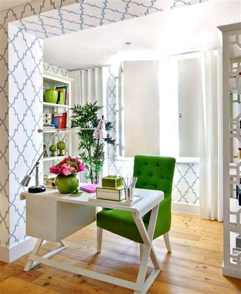 Green Home Design by Shop This Look Green And White Home Office Decor