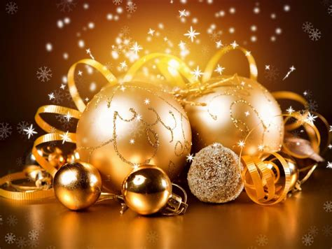 gold  year christmas wallpaper