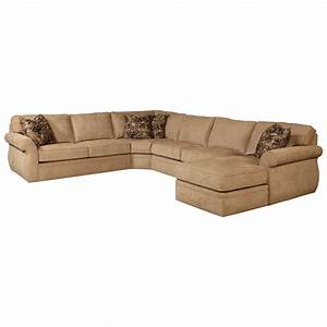 Broyhill furniture veronica right arm facing customizable for Broyhill sectional sofa with chaise