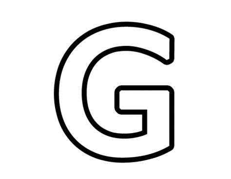 letter g black and white free back to school clip clipart panda free