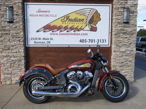2017 Indian Scout® Abs Motorcycles Norman Oklahoma 117676