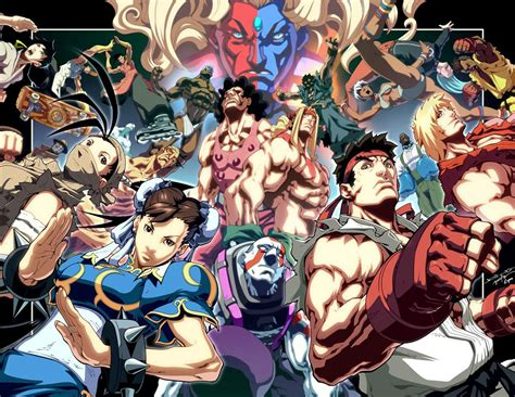Cast Of Characters Street Fighter 3 Wallpaper