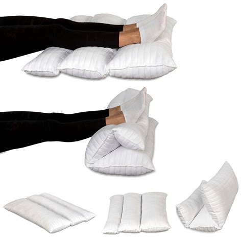Cuscini Da Letto - cuscino gambe terapeutico pieghevole da letto o divano