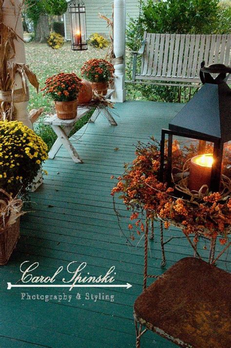 fall decorating  teal   heart  home