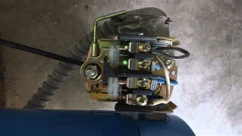 repair bouncingsparking contacts  water pump