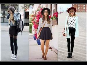 OUTFITS para chicas HIPSTER | como vestir de estilo hipster | ideas - YouTube