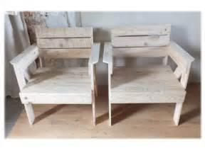 fauteuils en bois de palette pallet armchair pallet