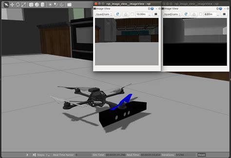 Gazebo Ros Ros Integration Quadrotor Model Dynamics Sensor Simulation