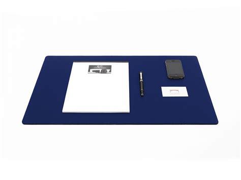 sous cuir bureau sous de bureau en cuir bleu