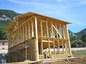 Toit En Paille : murs de paille une maison paille comme les autres ~ Premium-room.com Idées de Décoration