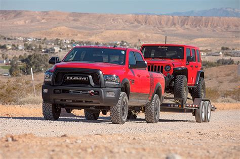 ram power wagon  drive  roadcom