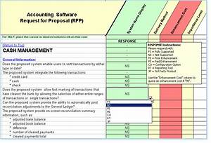 rfp template features and examples With software vendor comparison template