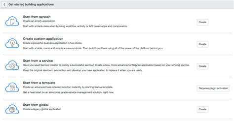 Creator Application by Legacy Application Creator