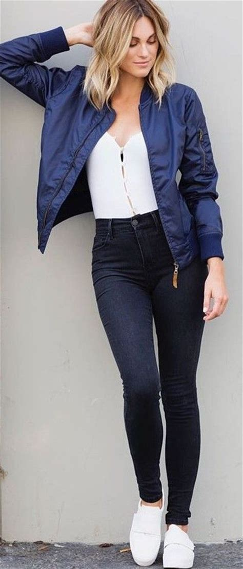 25+ Best Ideas about Bomber Jacket Outfit on Pinterest ...