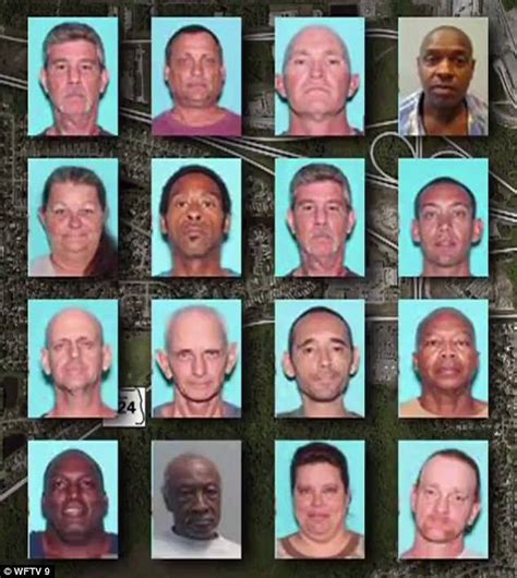 list of known offenders addresses 16 offenders register florida walmart as home address