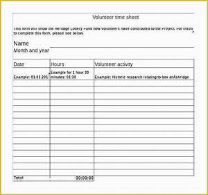 Free Volunteer Database Template Of Employee Orientation